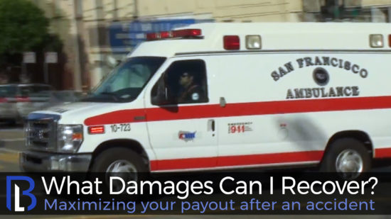 Image of an ambulance for an East Palo Alto injury attorney.