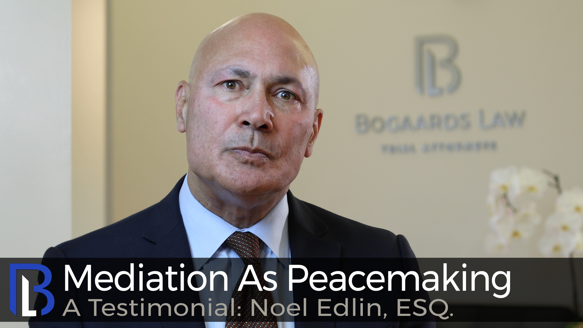 Mediation As Peacemaking--A Testimonial: Noel Edlin, ESQ