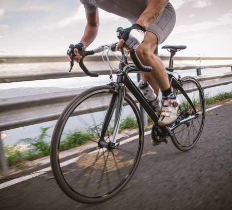 A man riding a bicycle representing how a San Francisco bicycle accident attorney can help you get the compensation you deserve.